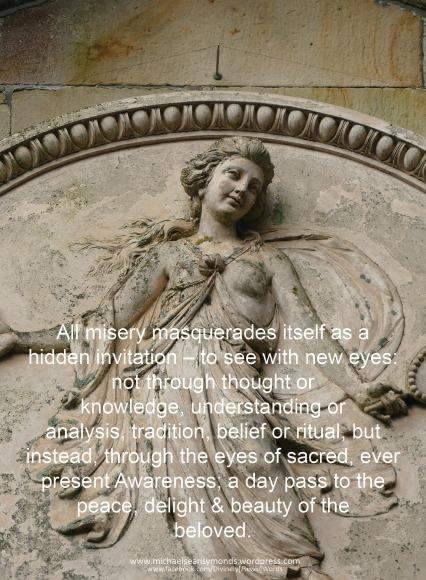 Sacred Eyes, michael sean symonds