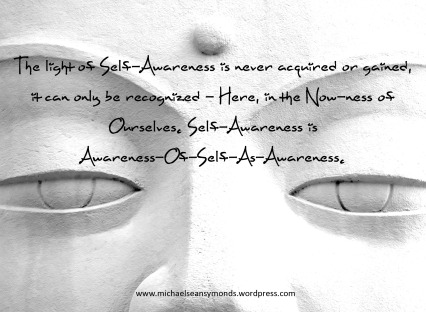 Self Awareness. michael sean symonds