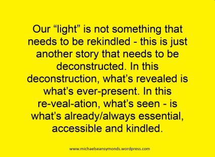 Our Light. michael sean symonds