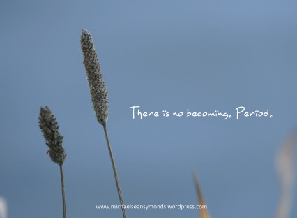 There Is No Becoming. michael sean symonds