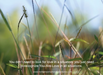 You Are Love. michael sean symonds