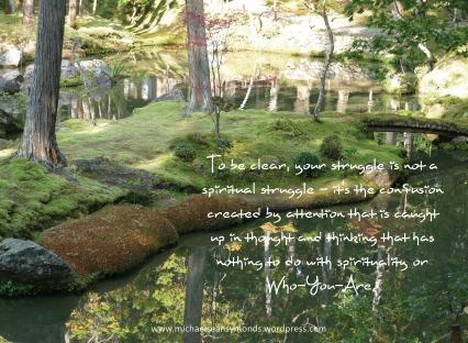 Spiritual Struggles. michael sean symonds
