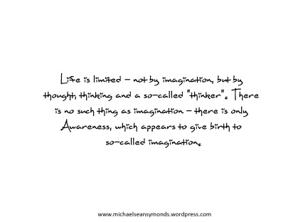 Imagination. michael sean symonds