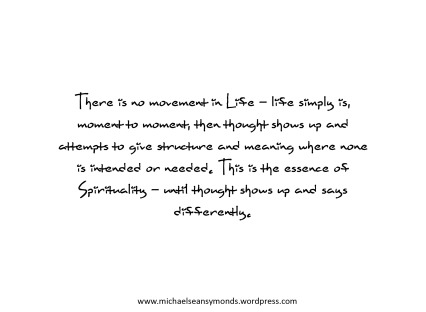 Life Simply Is. michael sean symonds.