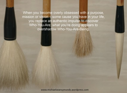 Who You Are Being. michael sean symonds