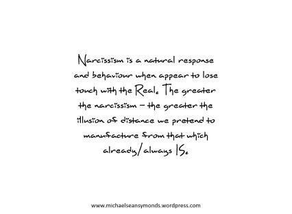 Narcissism. michael sean symonds