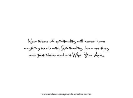 New Ideas Of Spirituality. michael sean symonds