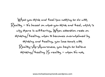 Thinking And Feeling. michael sean symonds