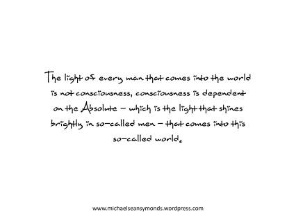 The Light. michael sean symonds