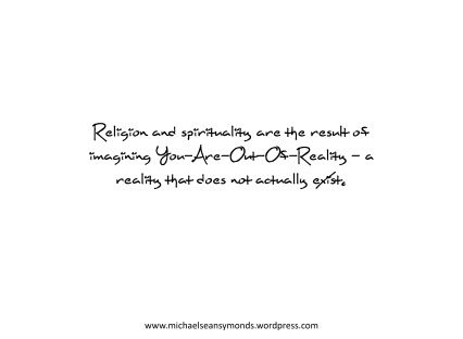 Religion And Spirituality. michael sean symonds