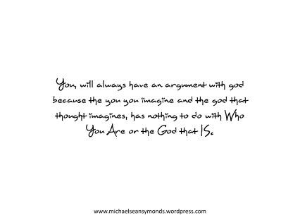 Arguments With God. michael sean symonds