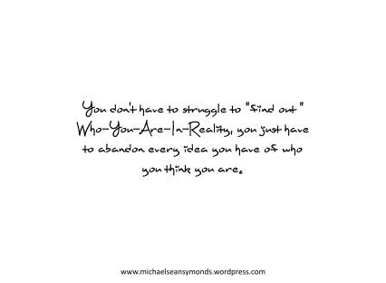 No Struggle. michael sean symonds